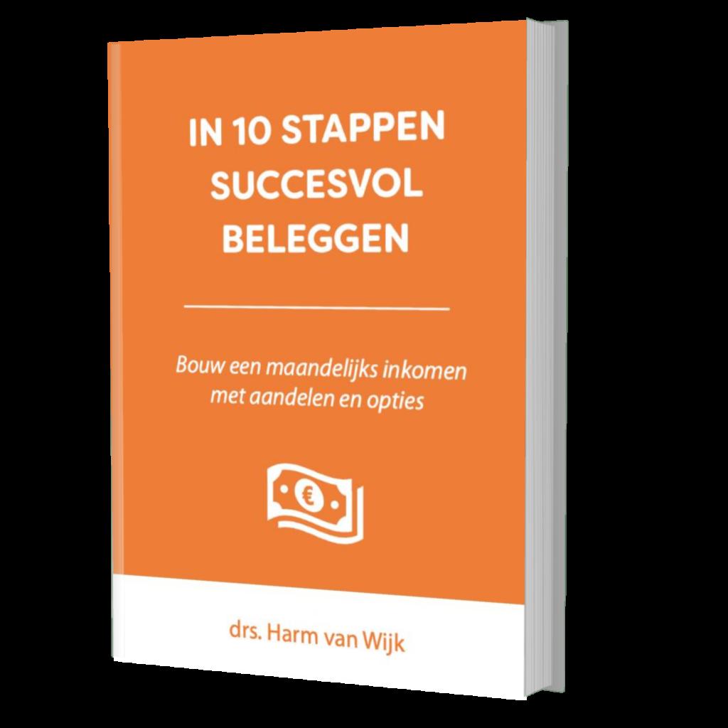 In 10 Stappen Succesvol Beleggen Review. Foto van het cursusboek.