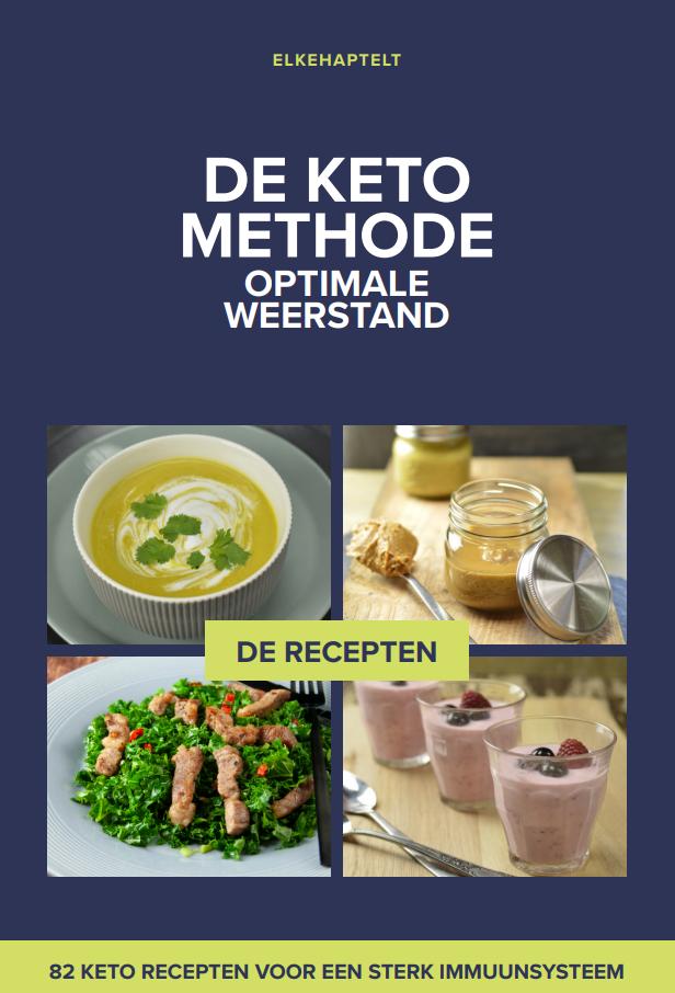 De Keto Methode. Foto van de cover van het e-book.