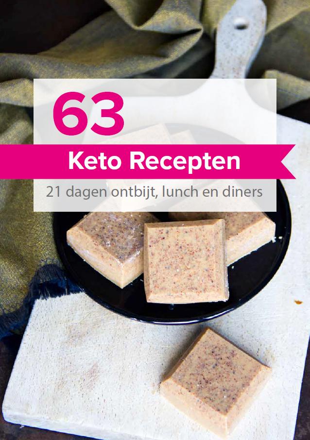 De Keto Revolutie. Foto van de cover van het receptenboek.