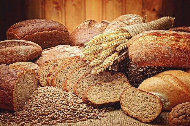 Foto van verschillende soorten brood